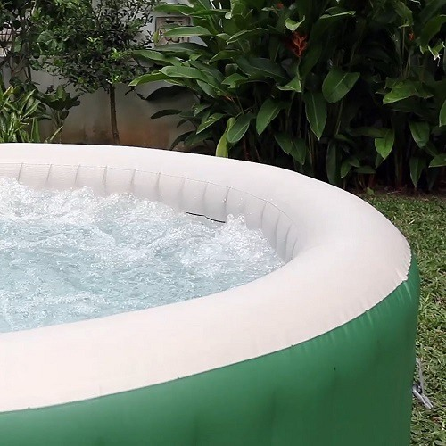 Coleman Lay Z Spa Inflatable Hot Tub with Water