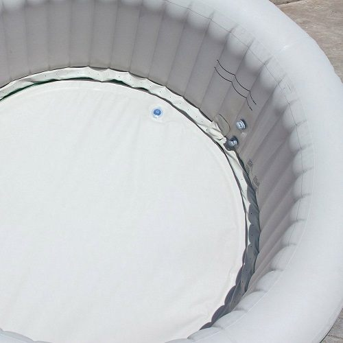 Inside of Coleman Lay Z Spa Inflatable Hot Tub