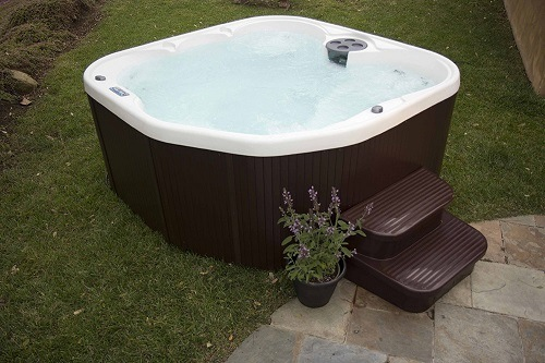 this hot tub has therapy jets that will send pressure to your joints and muscles that are pain and you can relax for a few hours and feel like