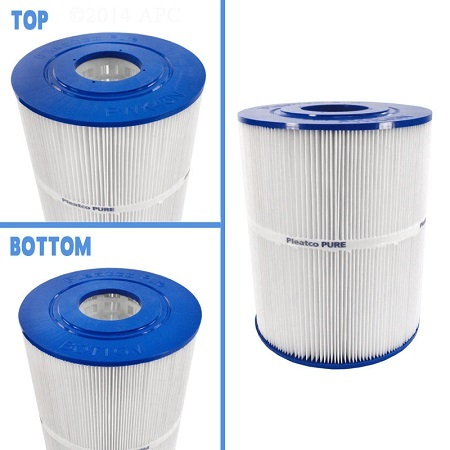 Pleatco Replacement Filter Cartridge for Watkins Hot Spring Spas Top And Bottom